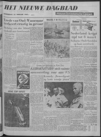 Nieuwe Schiedamsche Courant 1962-02-22