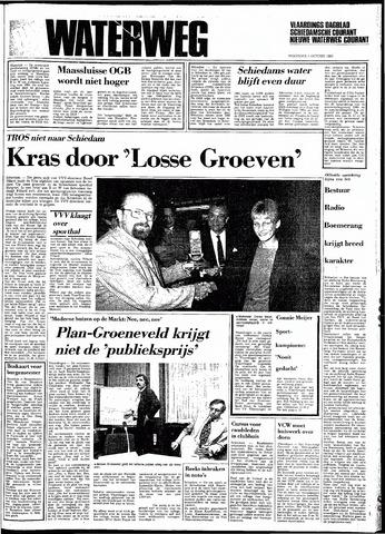 Rotterdamsch Nieuwsblad / Schiedamsche Courant / Rotterdams Dagblad / Waterweg / Algemeen Dagblad 1983-10-05
