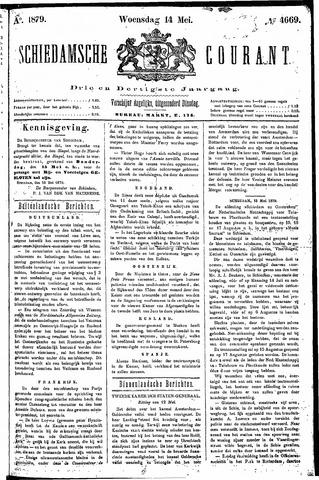 Schiedamsche Courant 1879-05-14