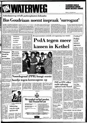 Rotterdamsch Nieuwsblad / Schiedamsche Courant / Rotterdams Dagblad / Waterweg / Algemeen Dagblad 1983-09-13