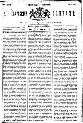 Schiedamsche Courant 1879-02-17