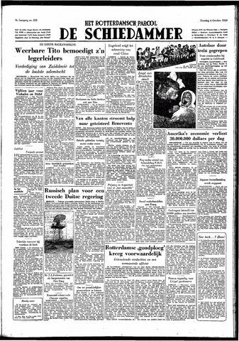 Rotterdamsch Parool / De Schiedammer 1949-10-04