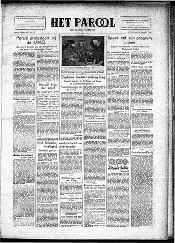Rotterdamsch Parool / De Schiedammer 1946-03-20