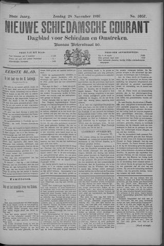 Nieuwe Schiedamsche Courant 1897-11-28