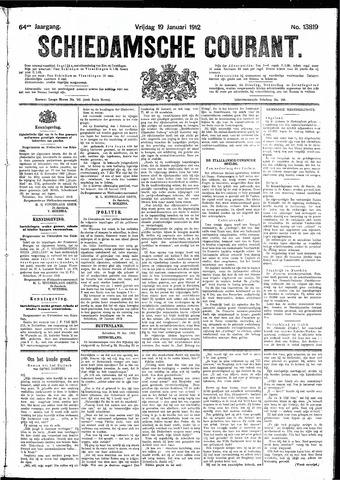 Schiedamsche Courant 1912-01-19