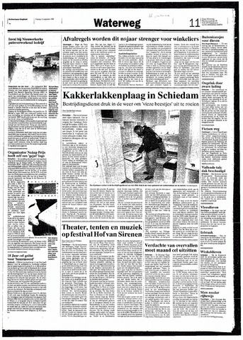 Rotterdamsch Nieuwsblad / Schiedamsche Courant / Rotterdams Dagblad / Waterweg / Algemeen Dagblad 1993-08-13