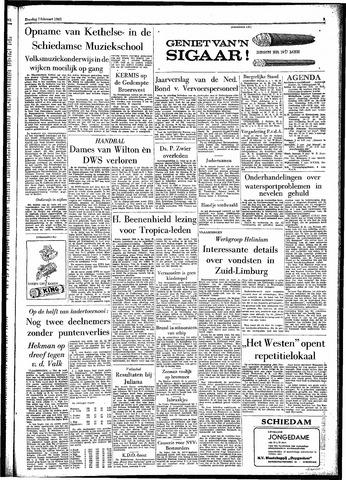 Rotterdamsch Parool / De Schiedammer 1961-02-07
