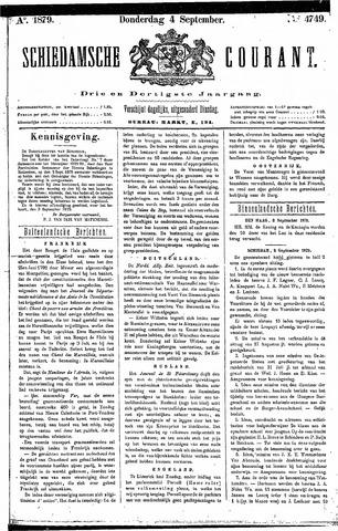 Schiedamsche Courant 1879-09-04