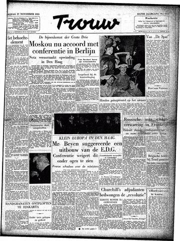 Trouw / De Rotterdammer 1953-11-27