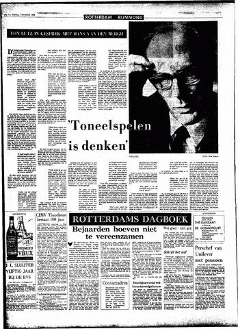Rotterdamsch Parool / De Schiedammer 1966-11-01