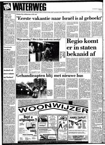 Rotterdamsch Nieuwsblad / Schiedamsche Courant / Rotterdams Dagblad / Waterweg / Algemeen Dagblad 1991-03-06