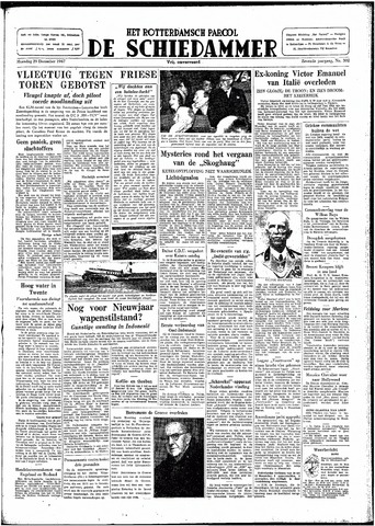 Rotterdamsch Parool / De Schiedammer 1947-12-29