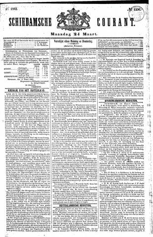 Schiedamsche Courant 1862-03-24