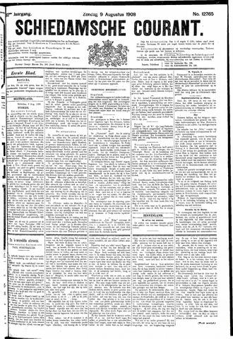 Schiedamsche Courant 1908-08-09
