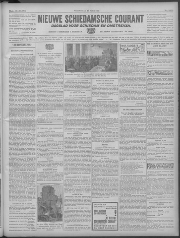 Nieuwe Schiedamsche Courant 1933-06-21