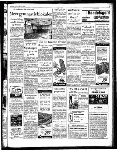 Rotterdamsch Parool / De Schiedammer 1963-08-23