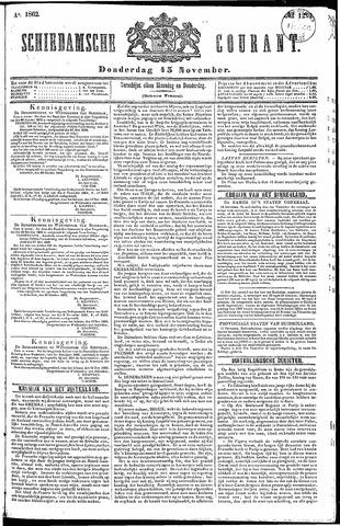 Schiedamsche Courant 1862-11-13