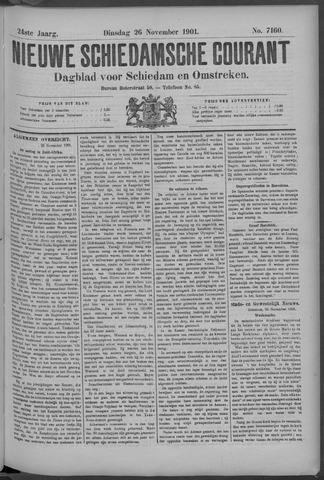 Nieuwe Schiedamsche Courant 1901-11-26