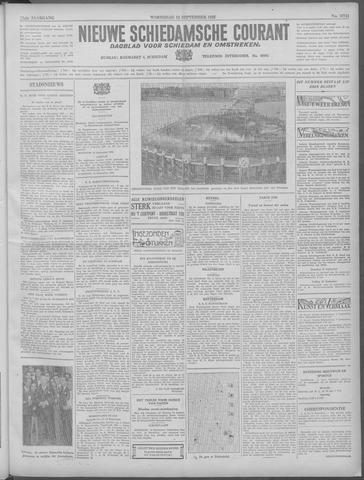 Nieuwe Schiedamsche Courant 1933-09-13
