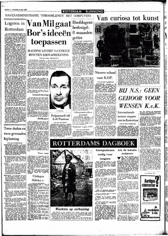 Rotterdamsch Parool / De Schiedammer 1966-06-08