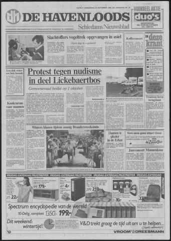 De Havenloods 1986-09-25