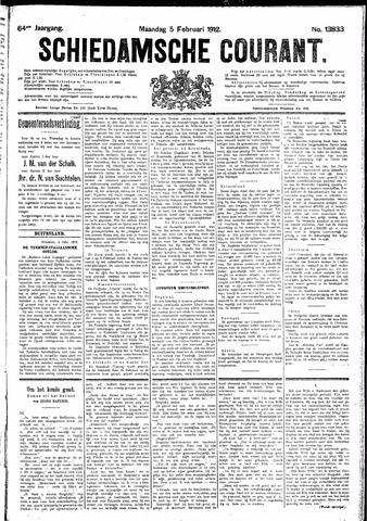 Schiedamsche Courant 1912-02-05