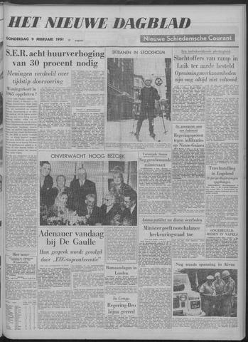 Nieuwe Schiedamsche Courant 1961-02-09