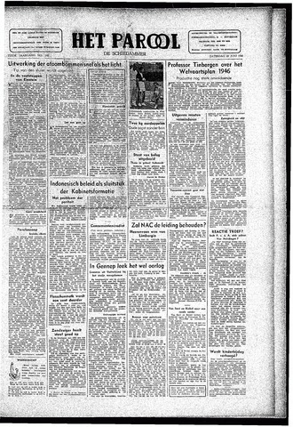 Rotterdamsch Parool / De Schiedammer 1946-06-29