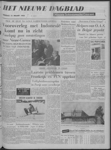 Nieuwe Schiedamsche Courant 1962-03-13