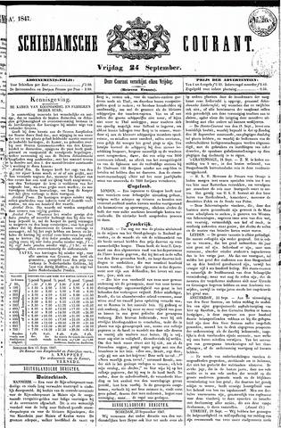 Schiedamsche Courant 1847-09-24