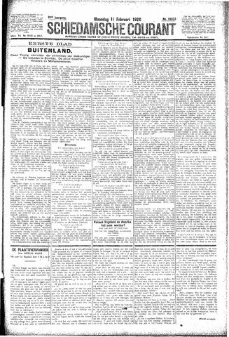 Schiedamsche Courant 1929-02-11