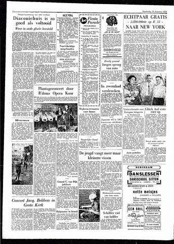 Rotterdamsch Parool / De Schiedammer 1955-08-25