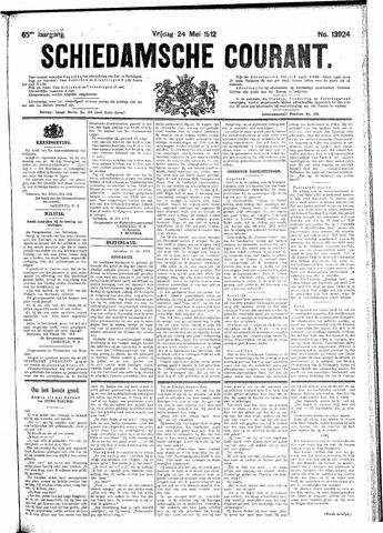 Schiedamsche Courant 1912-05-24