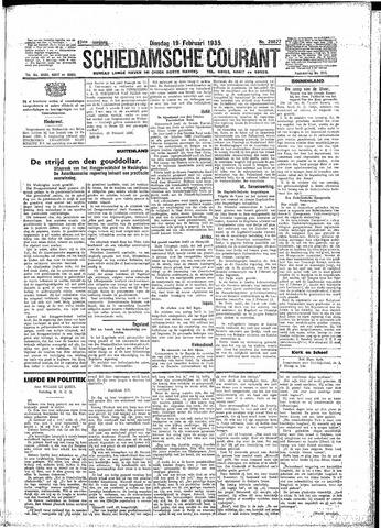 Schiedamsche Courant 1935-02-19