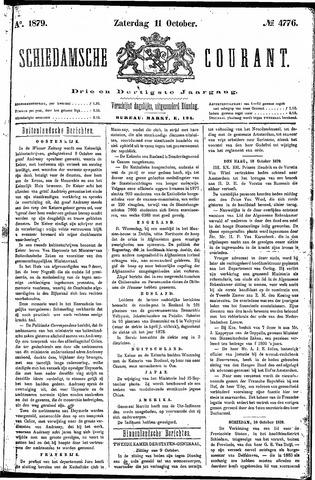 Schiedamsche Courant 1879-10-11