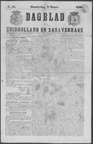 Dagblad van Zuid-Holland 1860-03-08