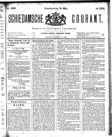 Schiedamsche Courant 1885-05-14