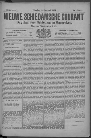 Nieuwe Schiedamsche Courant 1897-01-05