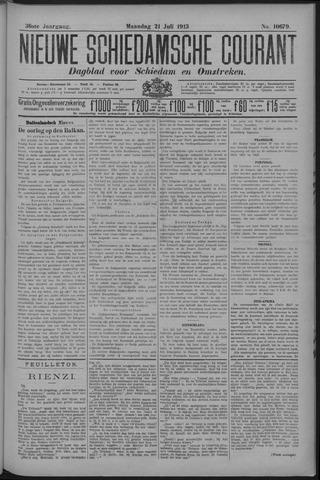 Nieuwe Schiedamsche Courant 1913-07-21