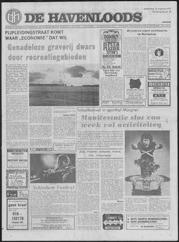 De Havenloods 1972-08-24