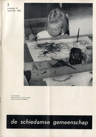 Schiedamse Gemeenschap (tijdschrift) 1960-09-01
