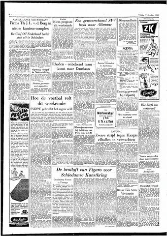 Rotterdamsch Parool / De Schiedammer 1955-10-07
