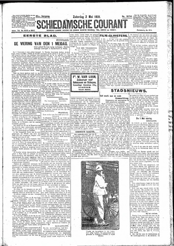 Schiedamsche Courant 1931-05-02