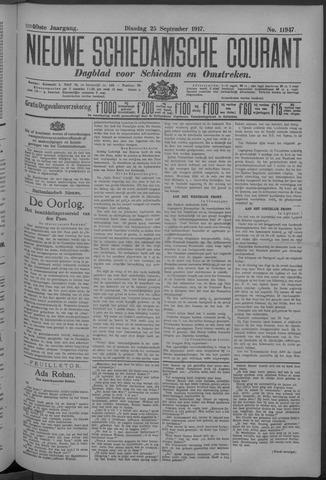 Nieuwe Schiedamsche Courant 1917-09-25