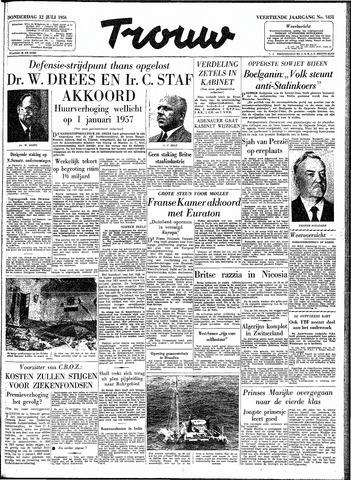 Trouw / De Rotterdammer 1956-07-12