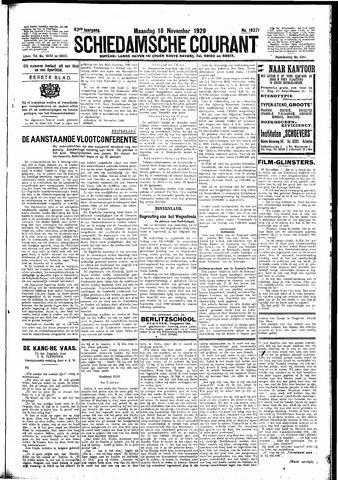 Schiedamsche Courant 1929-11-18