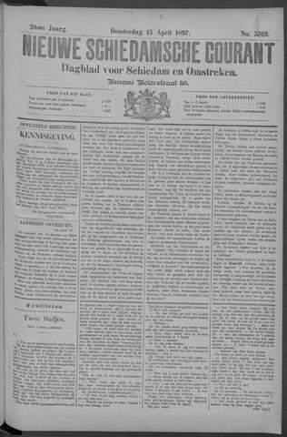 Nieuwe Schiedamsche Courant 1897-04-15