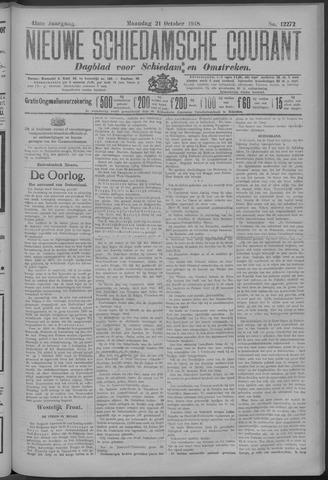 Nieuwe Schiedamsche Courant 1918-10-21