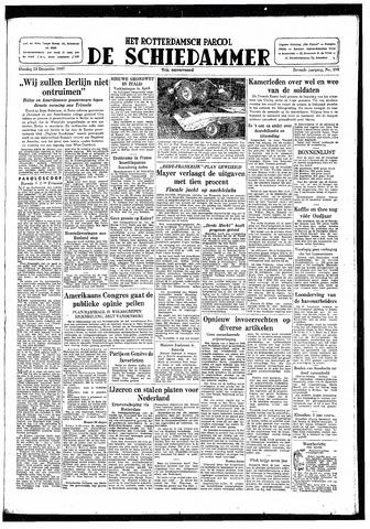 Rotterdamsch Parool / De Schiedammer 1947-12-23