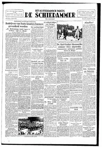 Rotterdamsch Parool / De Schiedammer 1947-06-11